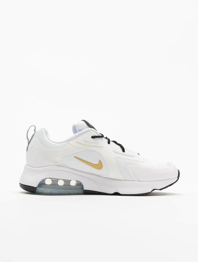 Nike Air Max 200 Sneakers WhiteMetallic GoldenBlack
