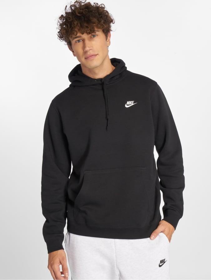 sélection premium 23604 3a6a6 Nike Sportswear Hoody Black/White