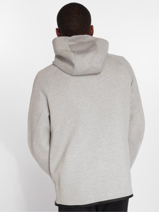 ad0b0585b66ff Nike   Sportswear Tech Fleece gris Homme Sweat capuche zippé 501246