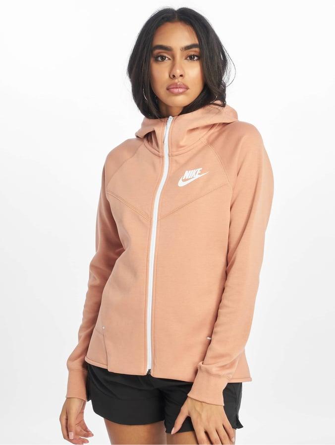 GoldenWhite Fleece Nike Hoodie Tech Windrunner Rose bfg76y