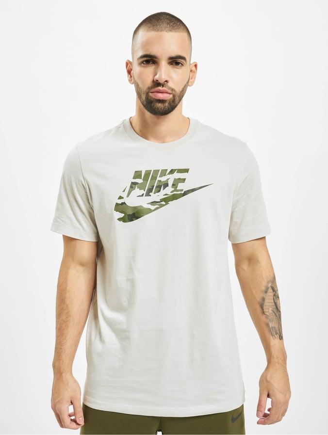 Nike Camo 2 T Shirt Light BoneLight Bone