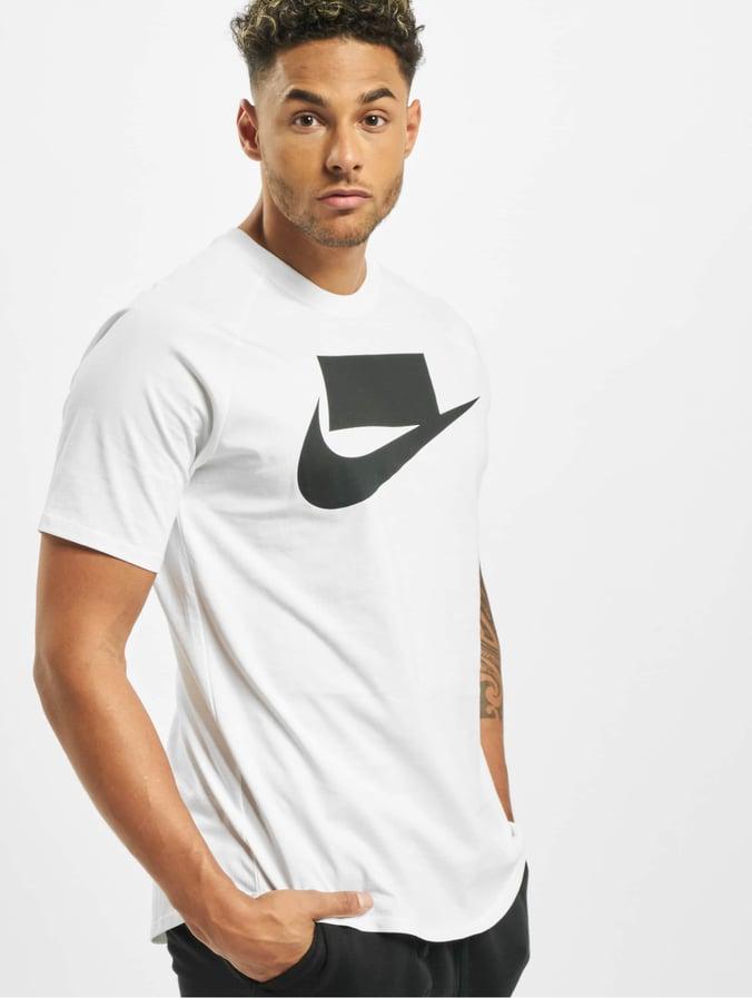 t shirt blanc nike homme