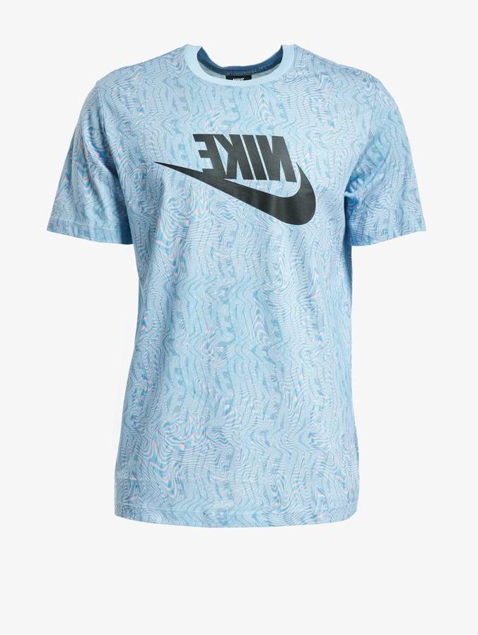 Nike Festival T Shirt Psychic BlueBlack