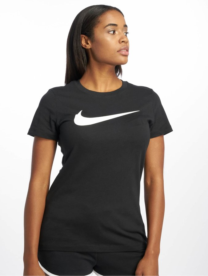 t shirt femme nike noir