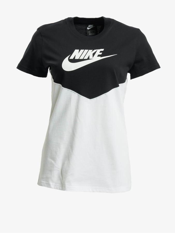 Nike Heritage SS Top BlackWhiteWhite