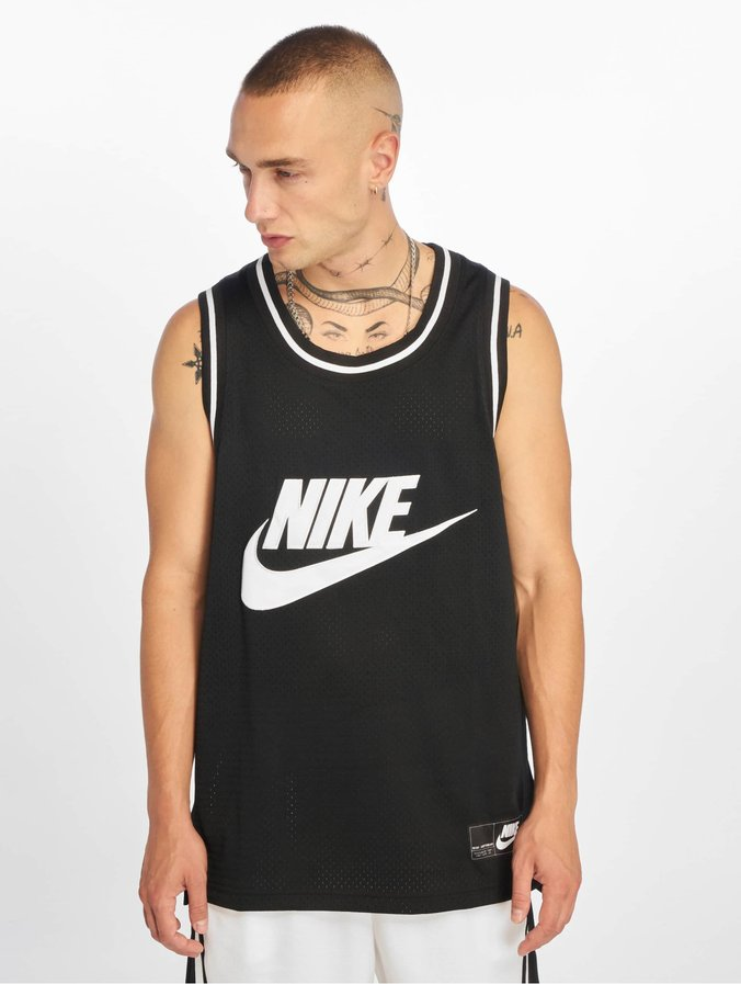 Nike Statement Mesh Tank Top BlackWhite