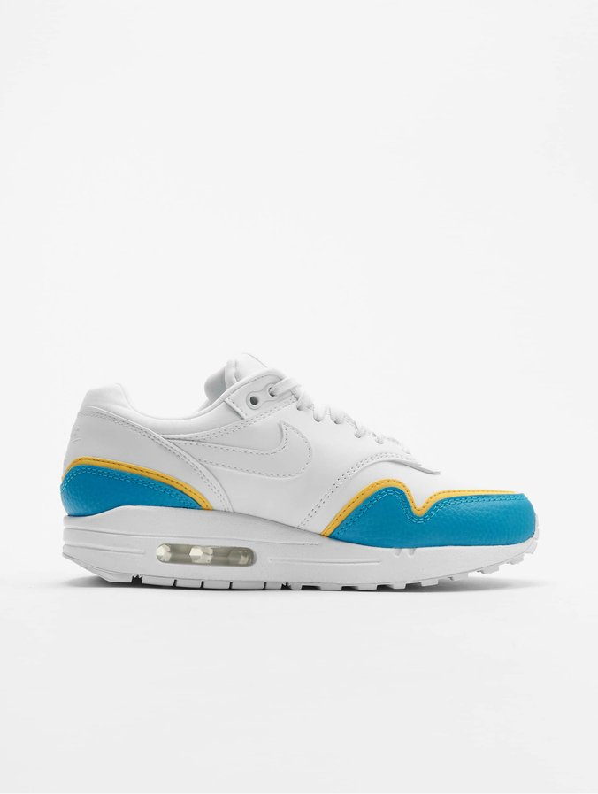 Nike Air Max 1 SE Sneakers WhiteWhiteLt Blue FuryTopaz Golden