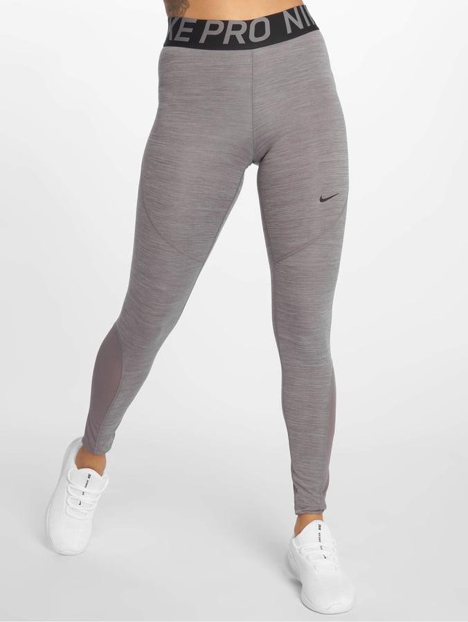 Nike Pro Leggings Gunsmoke/Heather/Gunsmoke/Black