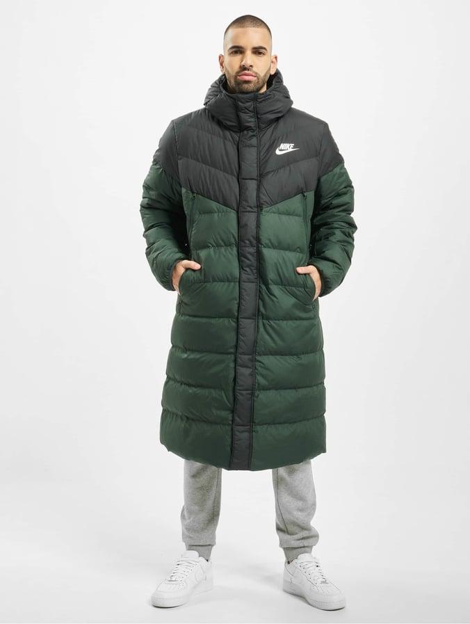 Nike Down Fill Windrunner Parka HD Coat Off NoirGalactic JadeSail
