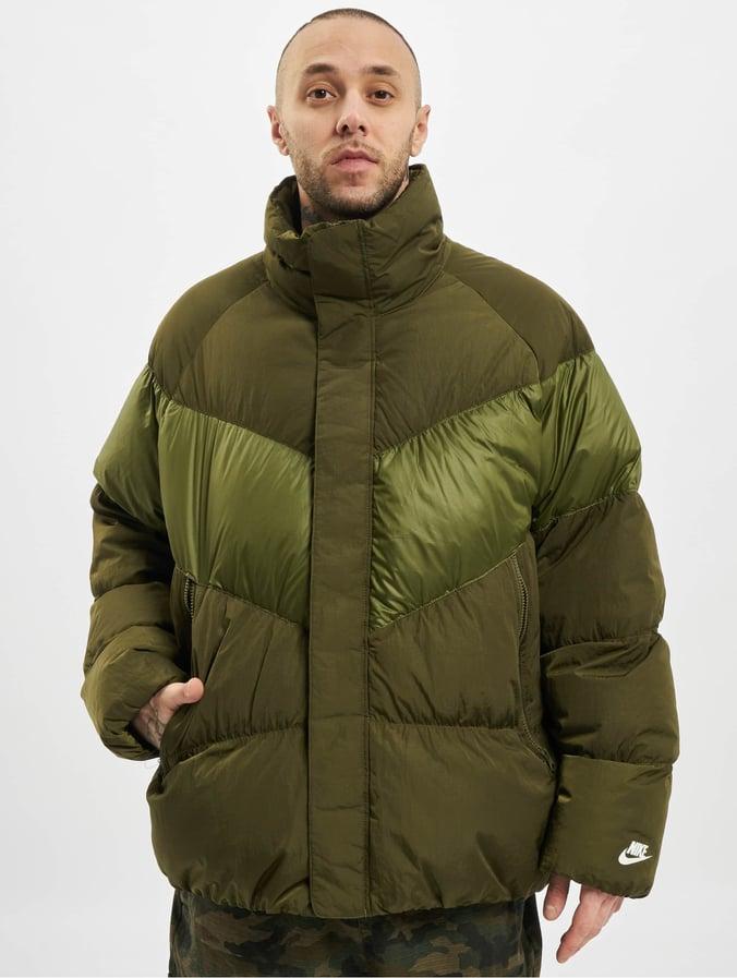 Nike Sportswear Winter Jacket Olive CanvasOlive CanvasWhite