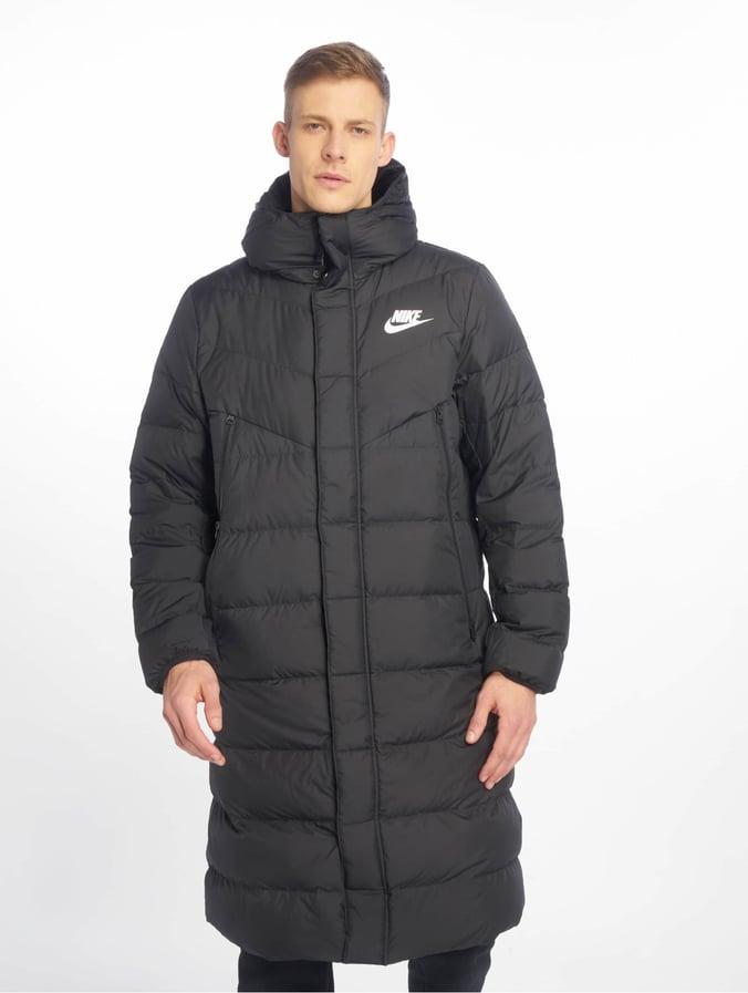 big discount pretty cool high quality Nike Sportswear Windrunner Winter Jacket Black/Black/Black/White