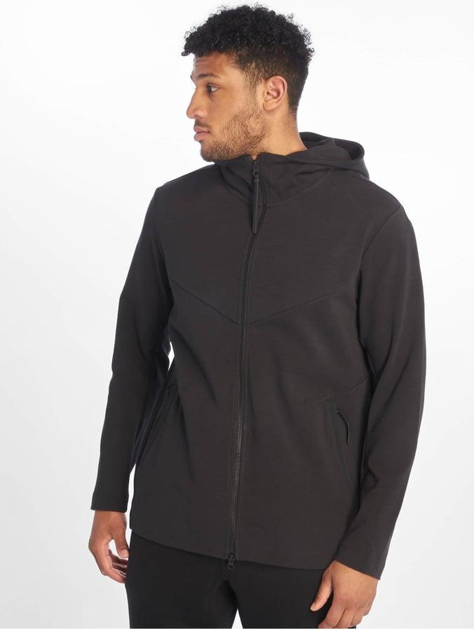 uk availability c3067 72b41 Nike Tech Pack Hoodie FZ Black/Black/Black