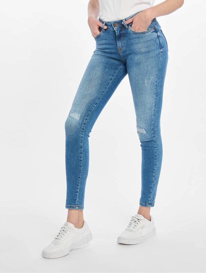 e6af5764866ae2 Noisy May Damen Skinny Jeans nmLucy in blau 624862