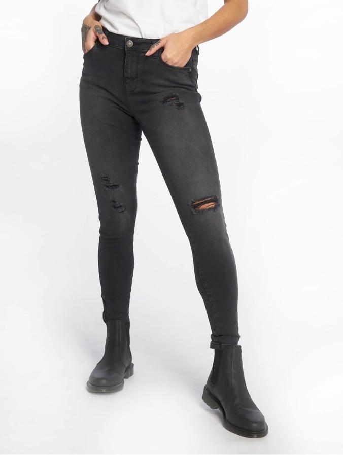 64ef8b0e1fe107 Noisy May Damen Skinny Jeans nmKimmy in grau 578281