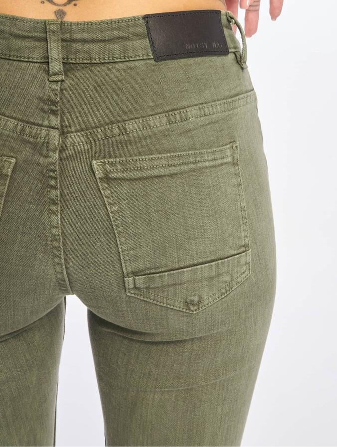 2d319236ce841b Noisy May Damen Skinny Jeans nmKimmy in olive 674060