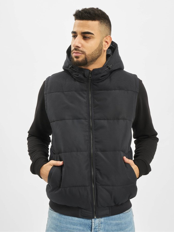 Only & Sons ONSGEORGE QUILTED WAISTCOAT - Veste - black