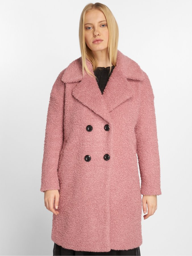 new arrival 8559c fac12 Only onlPaloma Boucle Wool Coat Baroque Rose
