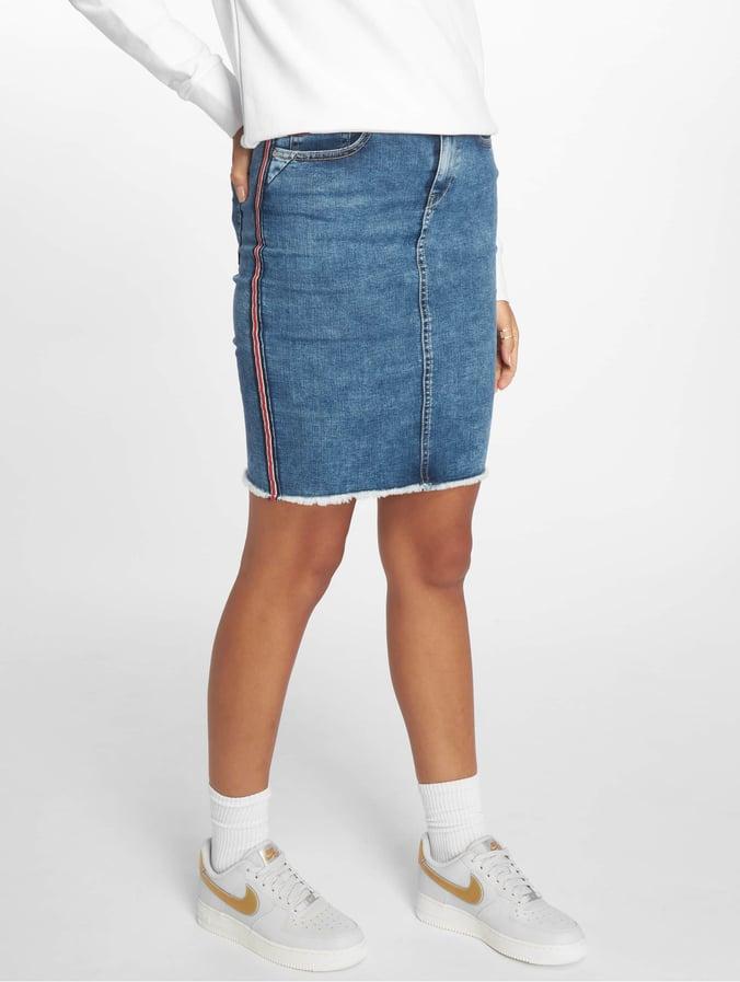 8857aa77ecca Only onlEmilie Panel Denim Skirt Medium Blue Denim