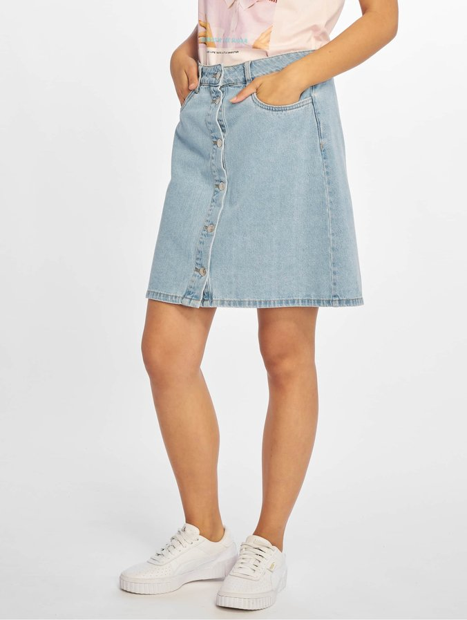 1906c33f3967 Only onlFarrah Regular Denim Skirt Light Blue Denim