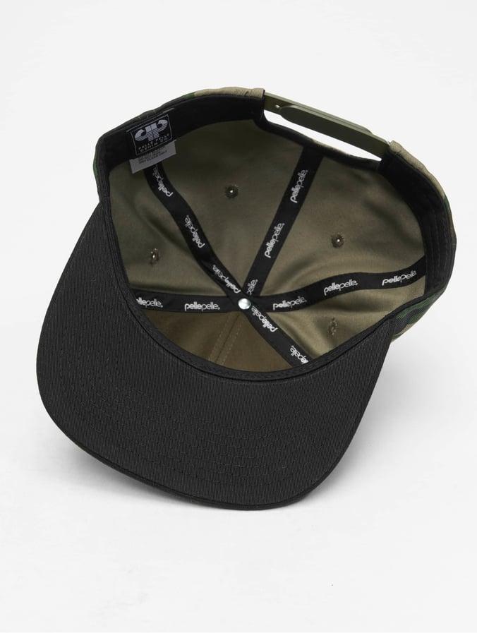 nouvelle collection la plus récente technologie prix imbattable Pelle Pelle Icon Plate Snapback Cap Woodland