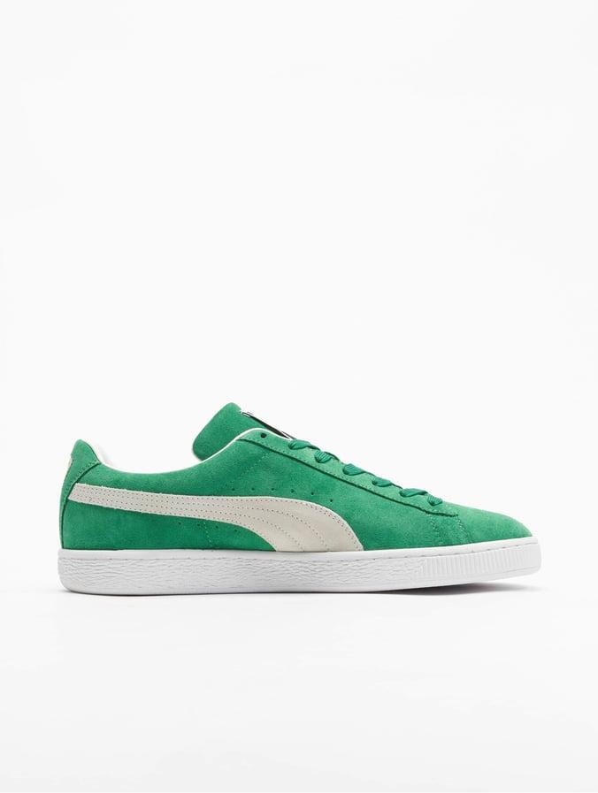 Puma Suede Teams Sneakers Amazon Green/Puma White