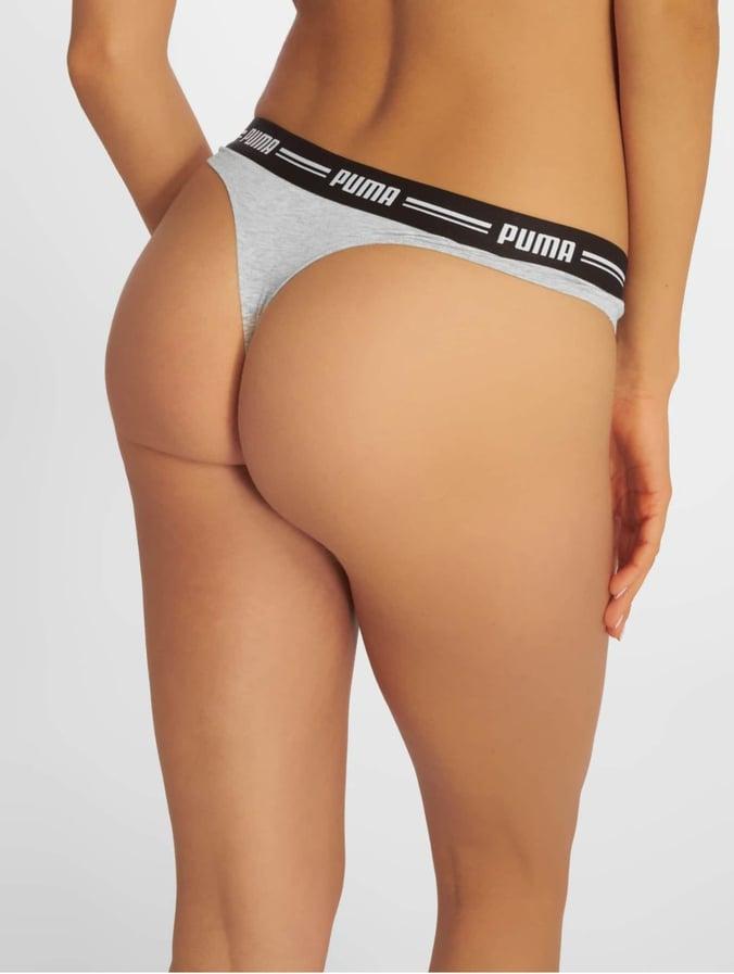more photos 8b27b 344a0 Puma Iconic String 2P Packed Underwear Grey/Grey