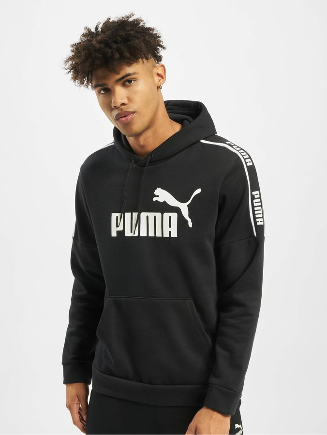 Puma Herren Hoody Amplified in schwarz 697170