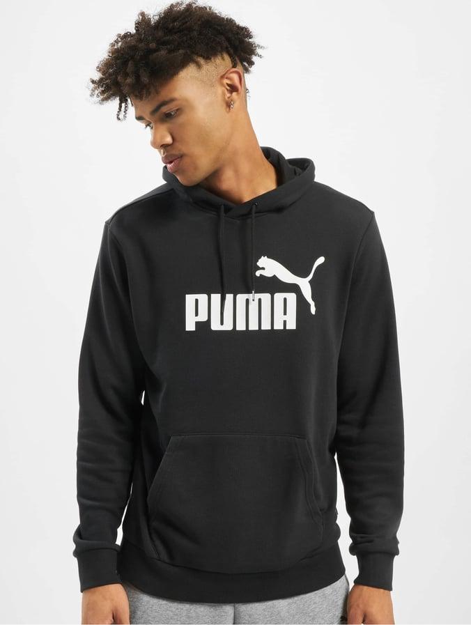 Puma Herren Hoody ESS Big Logo in schwarz 697212