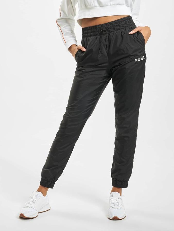 jogginghose damen schwarz weiß puma