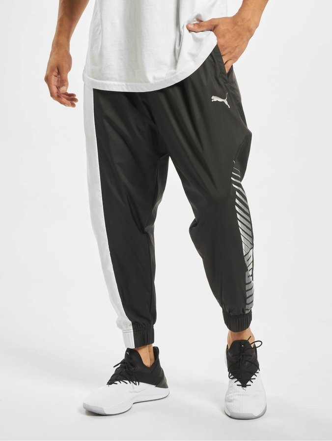 for whole family buy good where can i buy Puma Collective Woven Sweat Pants Puma Black/Puma White
