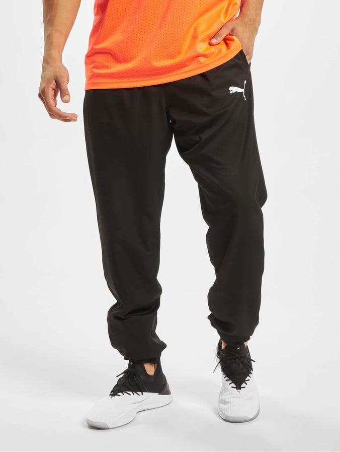 puma jogginghose herren schwarz