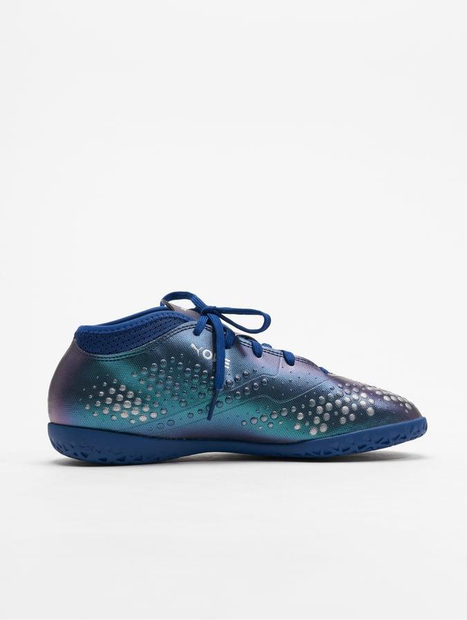 Puma Performance One 4 Syn IT JR Soccer Shoes Sodalite BluePuma Silvern