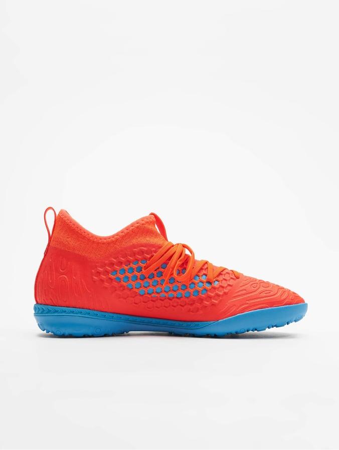 Puma Future 19.3 Netfit TT Soccer Shoes Red BlastBleu Azur