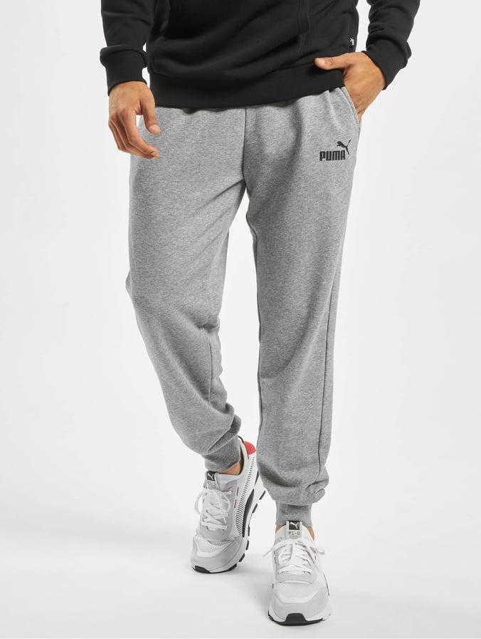 new style wholesale great deals Puma Performance ESS Logo Sweat Pants Medium Gray Heather