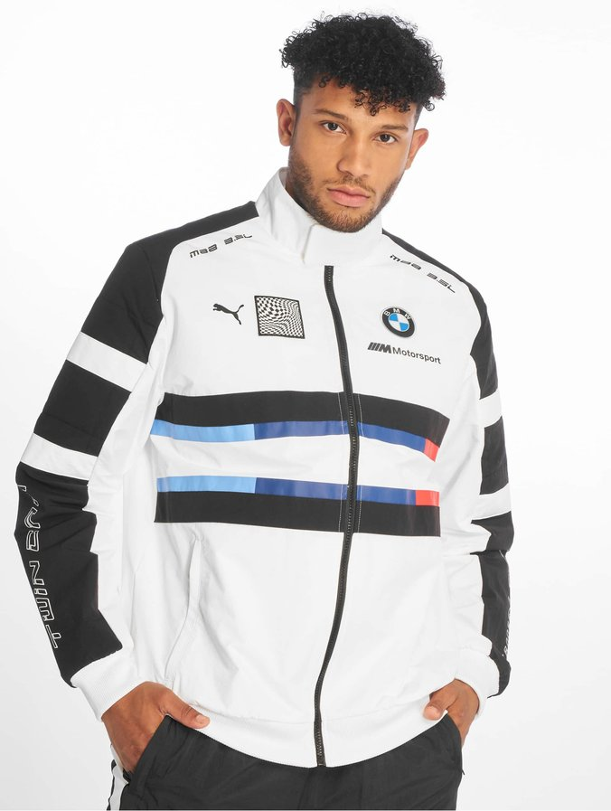 Puma BMW MMS Street Woven Jacket Puma White