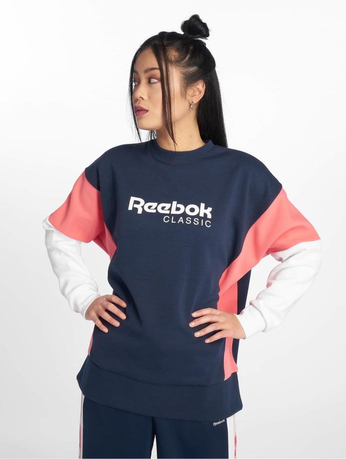 4838d610d14e Reebok   Classic A bleu Femme Sweat & Pull 624223