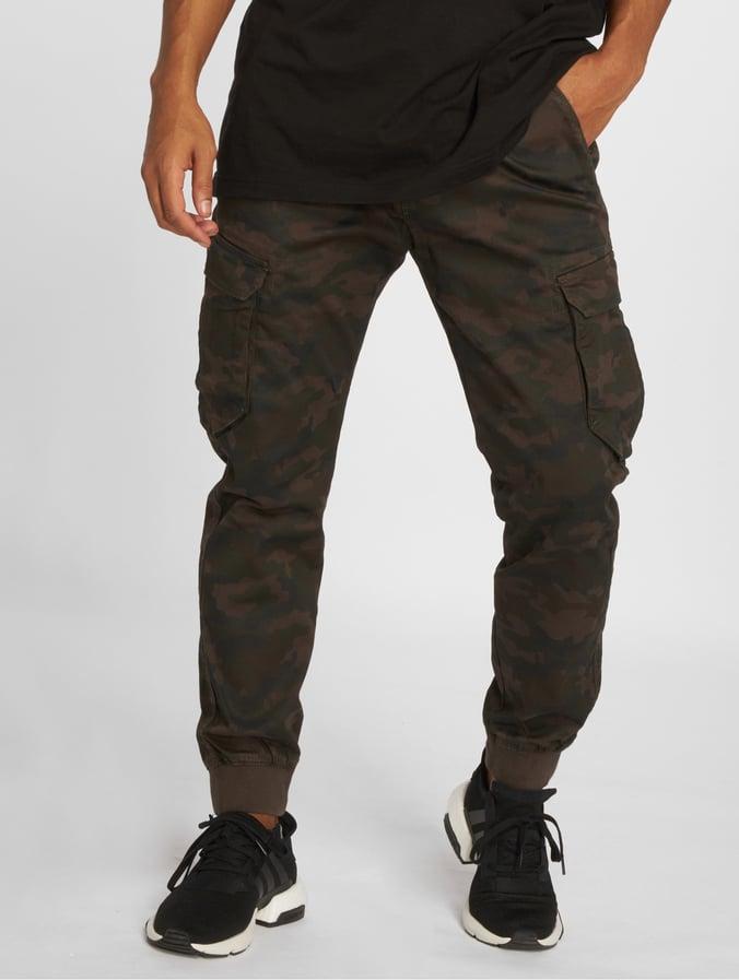 Reell Reflex Rib Cargo Hose black camouflage
