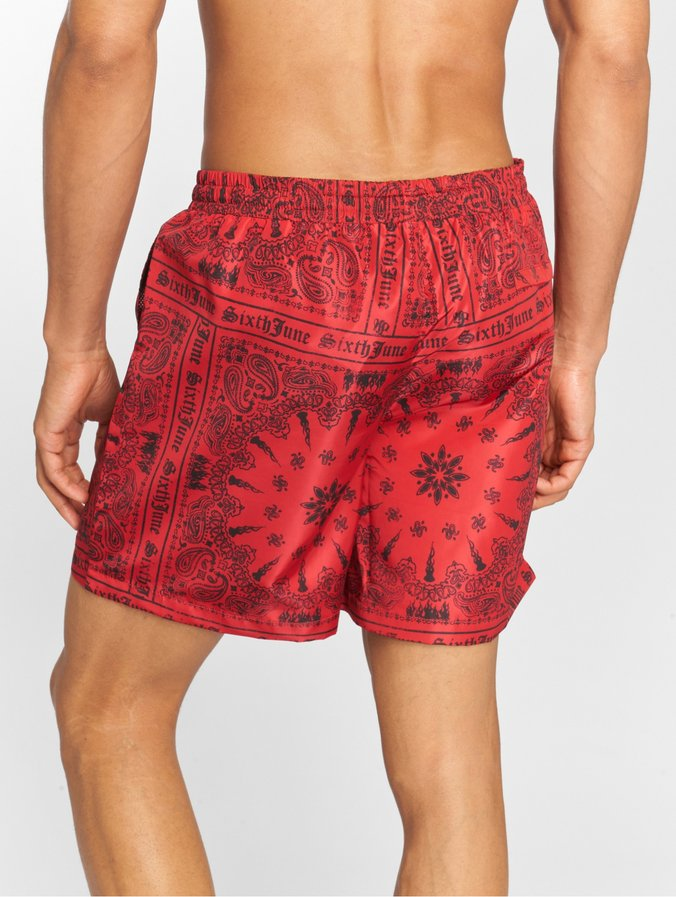 neues beste Schuhe Factory Outlets Sixth June Bandana Swimshorts Redx