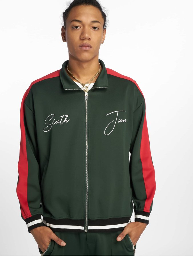 Sixth June Side Bands Tracksuit Jacket Green