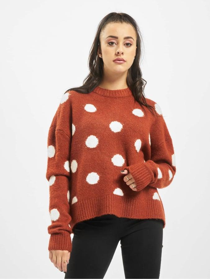 60% de réduction plus grand choix de 2019 60% de réduction Stitch & Soul Dots Sweatshirt Rusty Orange/Offwhite