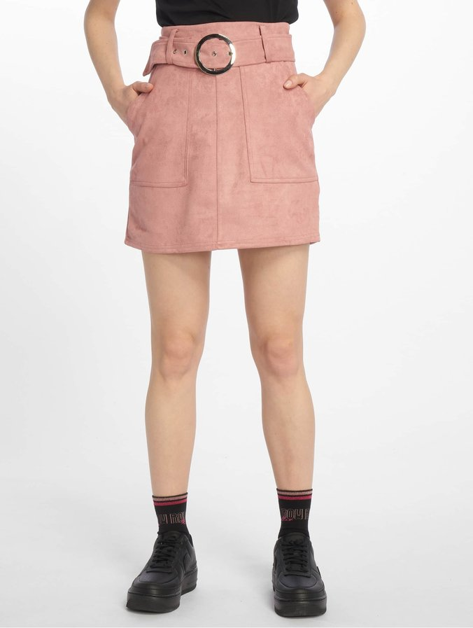 buy online be72b e9629 Tally Weijl Suede Skirt Old Rose