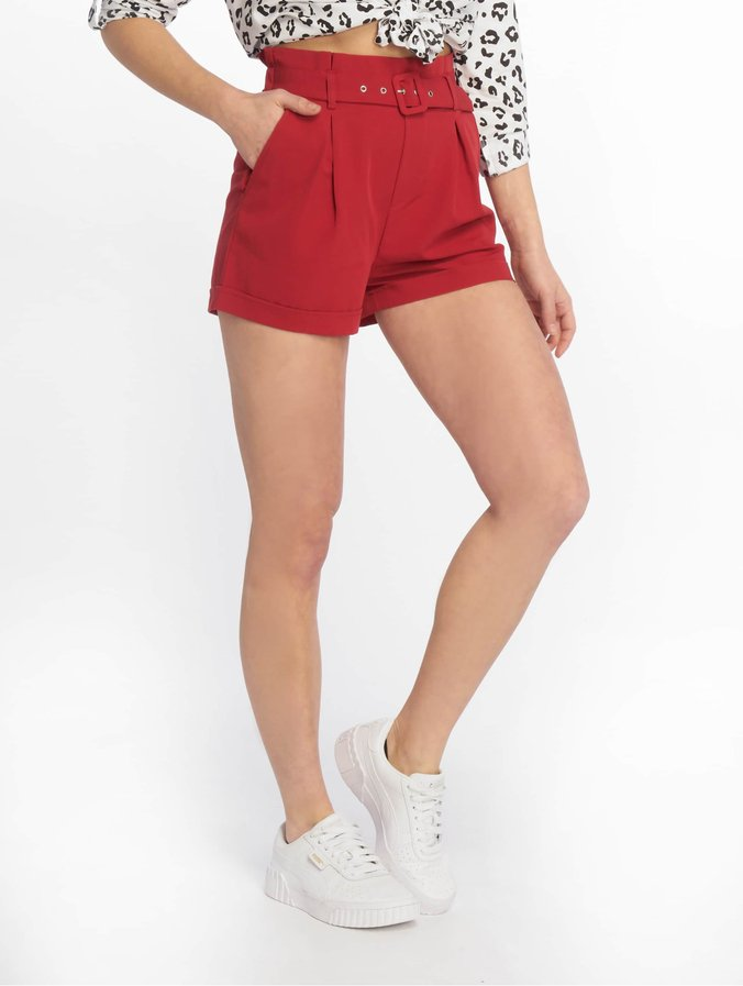Tally Weijl Buckle Shorts Real Red