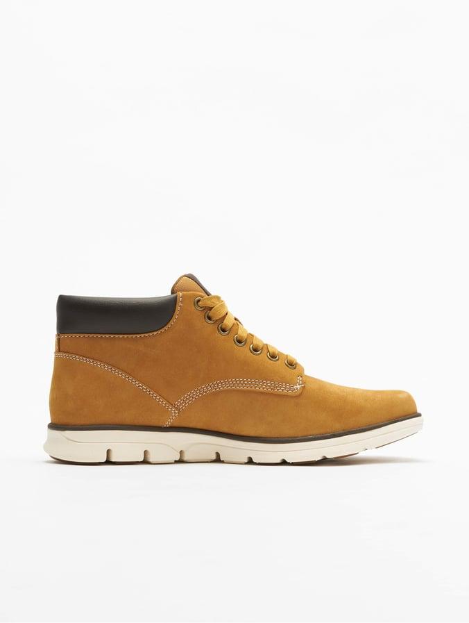 Timberland Bradstreet Chukka Leather Sneakers Wheat