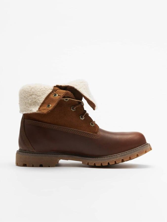 san francisco 6ecaa ed5c4 Timberland Authentics Teddy Fleece Wp To Boots Dark Brown
