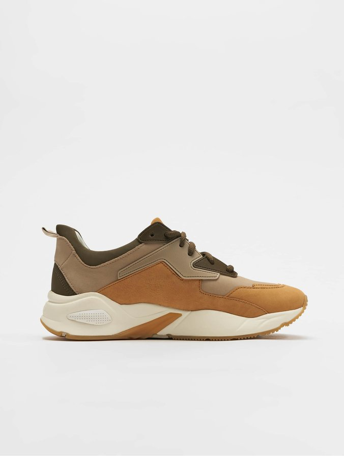 Timberland Delphiville Leather Sneakers Biscuit