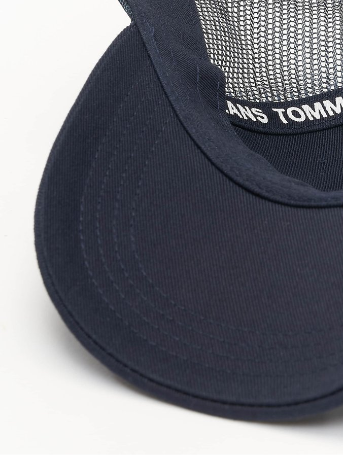 89d8279b262679 Tommy Jeans Cap / trucker cap Flag in blauw 639315