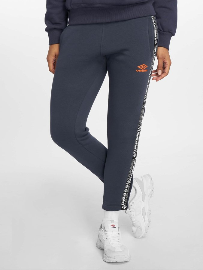 Umbro Tape Side Crop Sweatpants Blue Night Sky