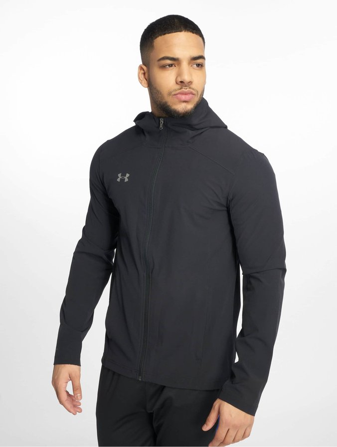 Under Armour Accelerate Terrace Jacket Pitch GreyOnyx White