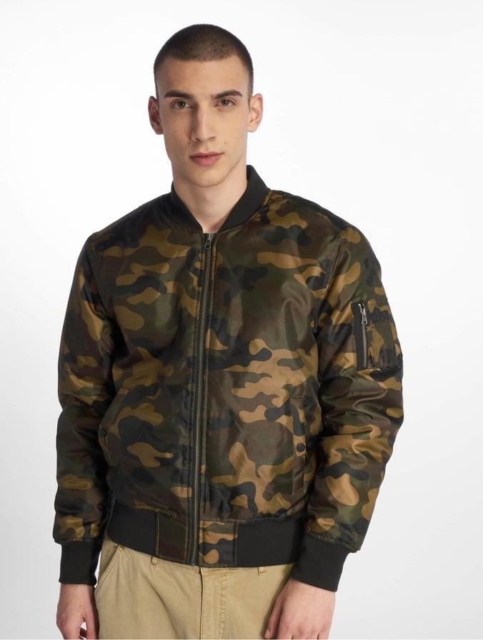 herren def winterjacke in camouflage bomber wXukOZTPi
