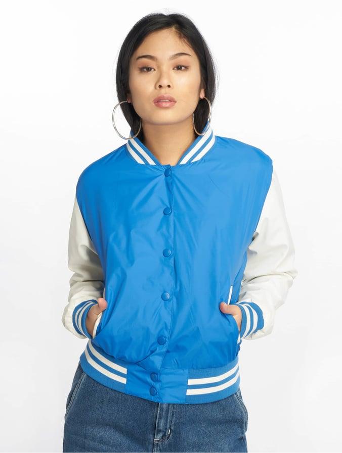 50% off ! Sieht aus Frauen blau Jacken Noisy May College